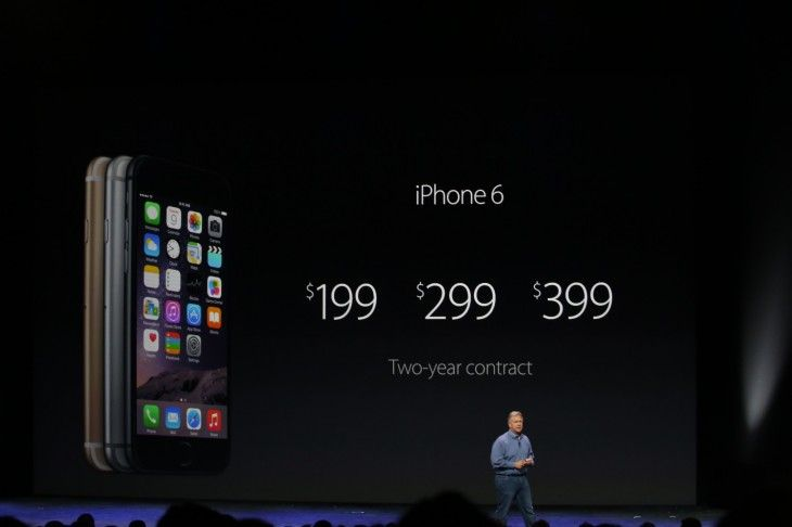"""#iPhone6 4.7"""" 16GB @ $199, 64GB @ $299 and 128GB @ $399 buuuuut that's in the U.S. Let's wait and see what the prices will be up here in Canada ;) #AppleEvent"""