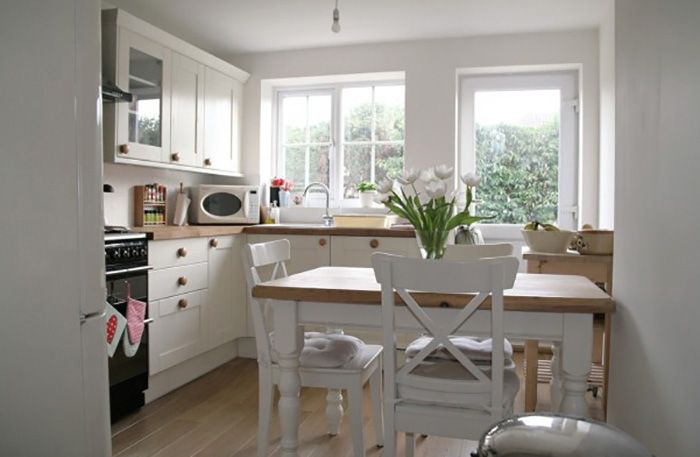Как визуально увеличить пространство кухни?