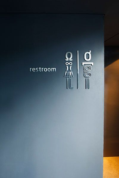 signage, dimensional letters, typography, graphic translation, glyphs