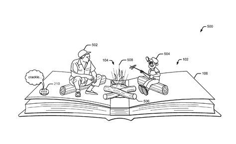 Un livre complètement interactif et projetant de la réalité augmentée sans lunettes ou casque : voilà ce que dévoile un brevet déposé par Google en 2015