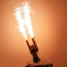 DBA Club Sparklers  - CHAMPAGNE BOTTLE SPARKLERS** BIRTHDAY CANDLE SPARKLERS, $4.91 (http://www.clubsparklers.com/champagne-bottle-sparklers-birthday-candle-sparklers/)