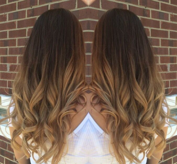 Blonde Balayage Lightened Ends And Feathered The