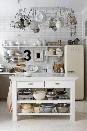 Vintage Scandinavian Kitchen