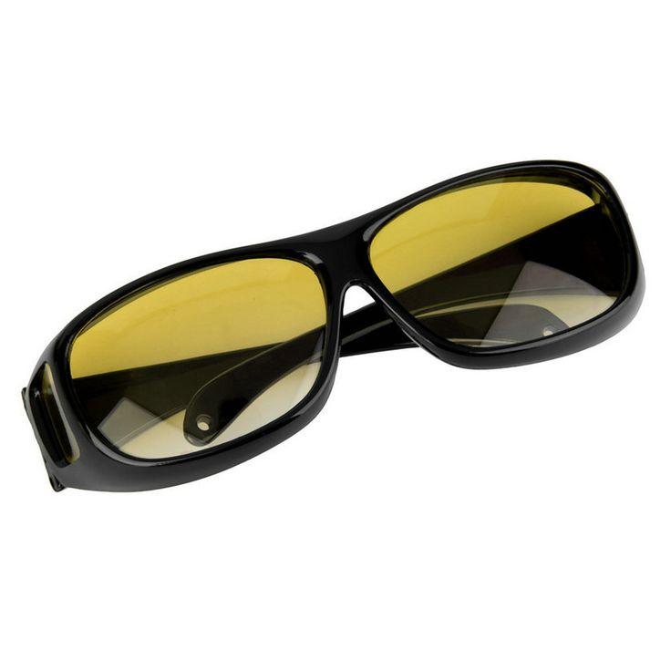 رجل امرأة ليلة القيادة نظارات مكافحة صارخ الرؤية النظارات الشمسية الكلاسيكية العين حماية سلامة السائق العين الاسترخاء