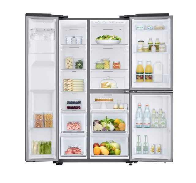 Refrigerateur Americain Samsung Rs68n86f0s9 Pas Cher Refrigerateur Americain Darty En 2020 Refrigerateur Americain Refrigerateur Samsung