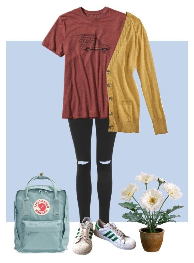 """she // dodie clark"" by sydnij25 ❤ liked on Polyvore featuring Fjällräven, Topshop, Patagonia, Mossimo Supply Co., adidas and Gerber"