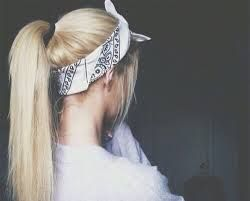 Image result for tumblr bandana girl