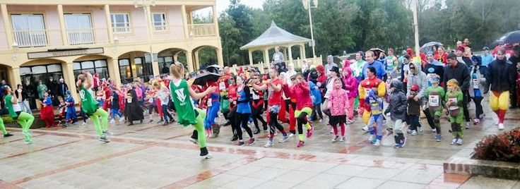Superheroes primed and ready for their 'superhero run' raising money for Florence Nightingale Hospice Trust