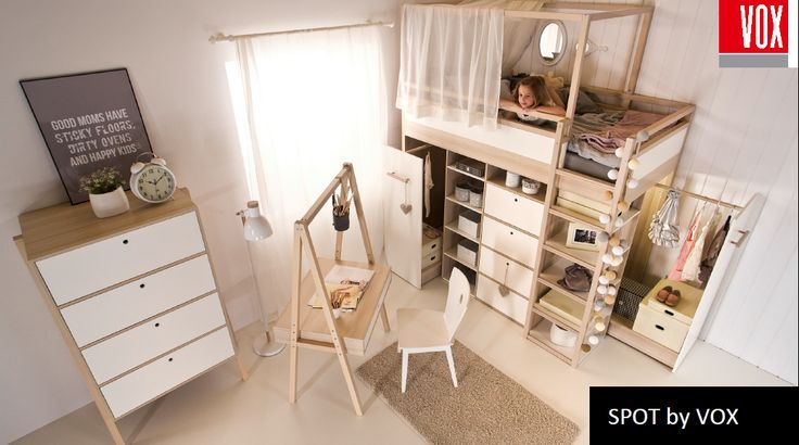 Detská izba SPOT by VOX - SCONTO NÁBYTOK- kreatívne vytvorenie vlastného priestoru