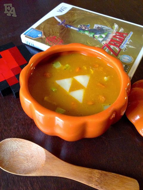 "Pumpkin Soup from ""The Legend of Zelda: Skyward Sword"