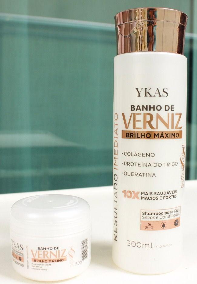Banho De Verniz Ykas Cosmeticos Com Imagens Banho De Verniz