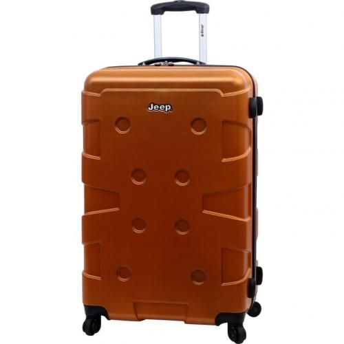 Orange Jeep Luggage, yes please!