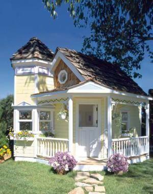 Custom Luxury Playhouse 4 #diyplayhouse
