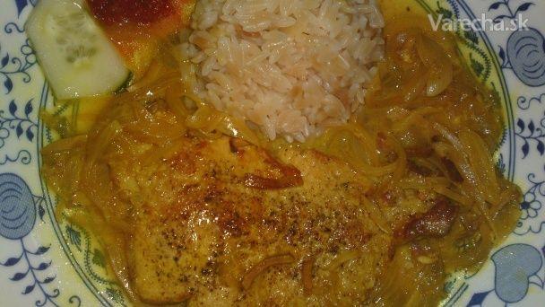 Bravčové karé na zázvore a cesnaku s kurkumou (fotorecept) - Recept