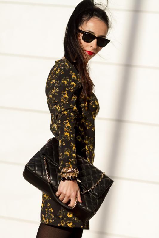 Vestito nero in pelle replacement