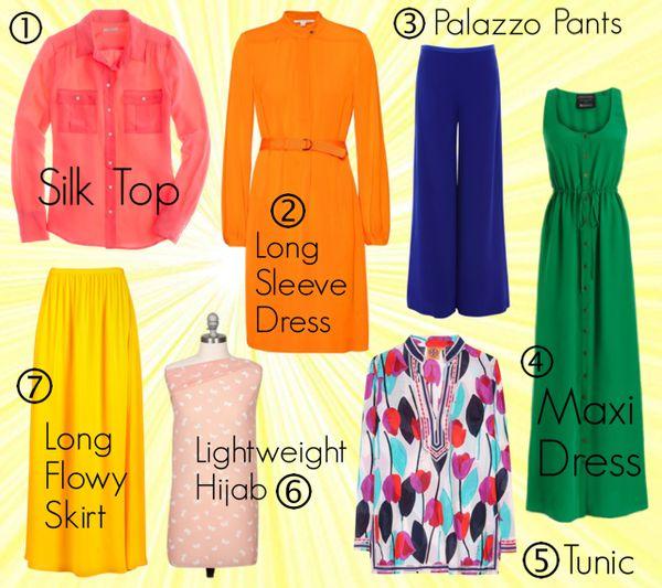 How to Beat the Heat + Summer Wardrobe Essentials - Haute Hijab
