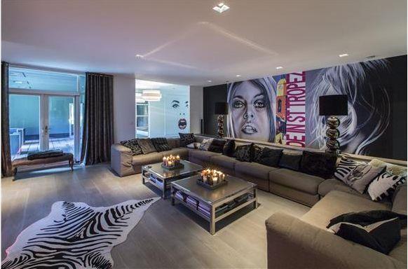 Modern living room, Tavernaan, Holland