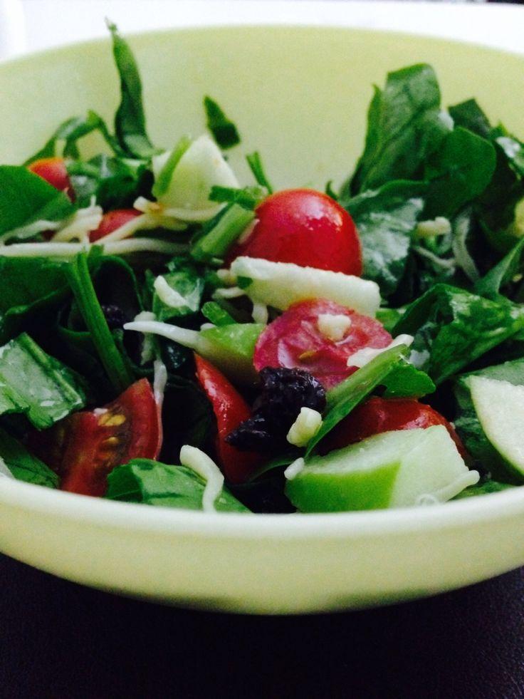 Spinach & Cherry Salad