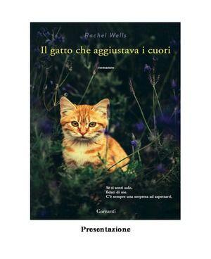 Il Gatto Che Aggiustava I Cuori PDF