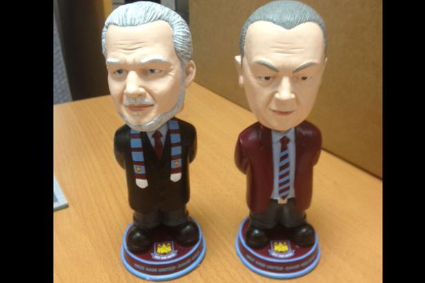 Had to chuckle at this ---> Former Birmingham City owners David Gold and David Sullivan immortalized as bobbleheads (Credit: West Ham United)