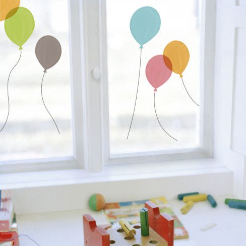 Balloons (Window Decal) Wall Decal - AllPosters.ca