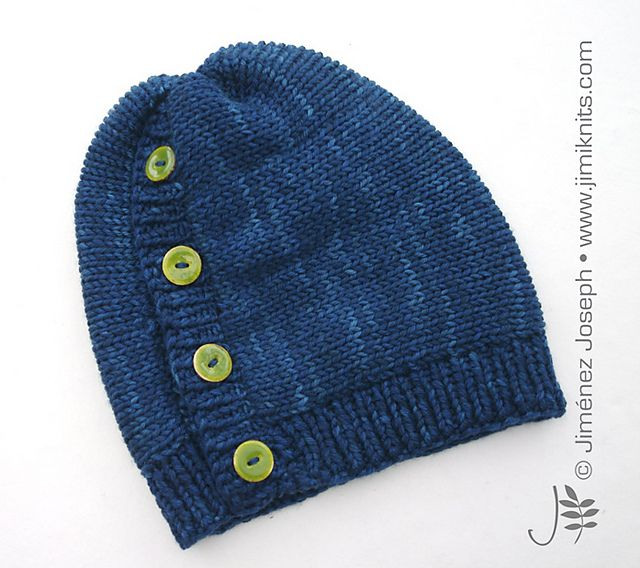 Choob - A thick and insulating sideways-constructed hat, made out of knitted tubes using the Addi Express Professional (22 pin) knitting machine. A small amount of hand knitting is done to create the ribbing trims using circular needles.