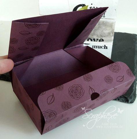 Die besten 25+ Schachtel falten Ideen auf Pinterest Origami - bonboniere selber machen anleitung