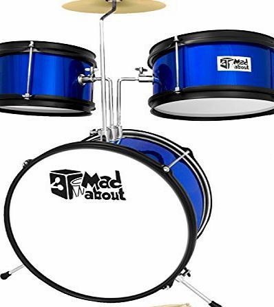 Mad About Junior 3 Piece Drum Kit - Beginner Drum Set in Blue No description (Barcode EAN = 5060286449059). http://www.comparestoreprices.co.uk/december-2016-week-1/mad-about-junior-3-piece-drum-kit--beginner-drum-set-in-blue.asp