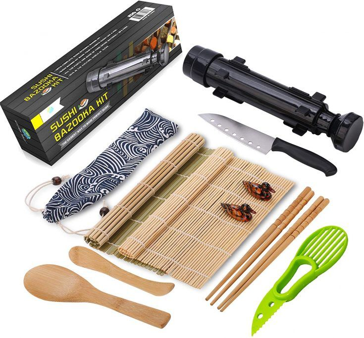 Essential equipment needed to make perfect sushi at home