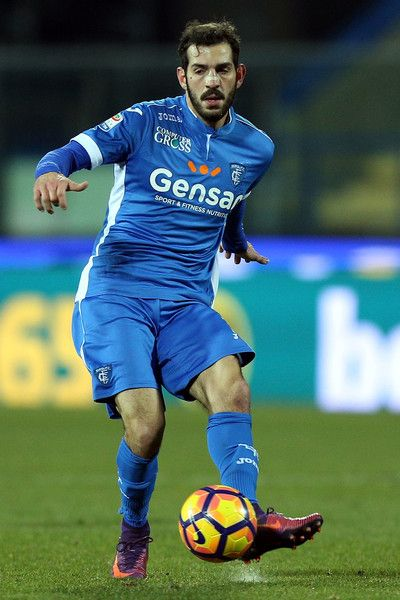 Riccarso Saponara of Empoli FC in action during the Serie A match between Empoli FC and US Citta di Palermo at Stadio Carlo Castellani on January 7, 2017 in Empoli, Italy.