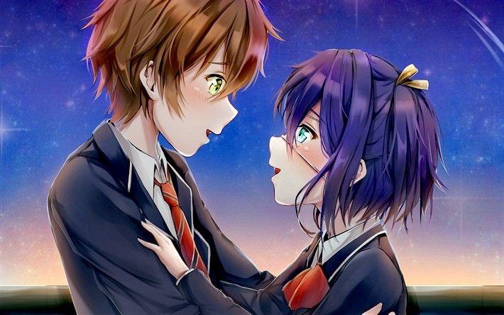 Anime Love Story Anime Love Kawaii Cute Kurdishotaku Art Couple Image أنمي رومانسي صور كاواي كيوت آرت أحبك Hoạt Hinh Cặp đoi Hoạt Hinh