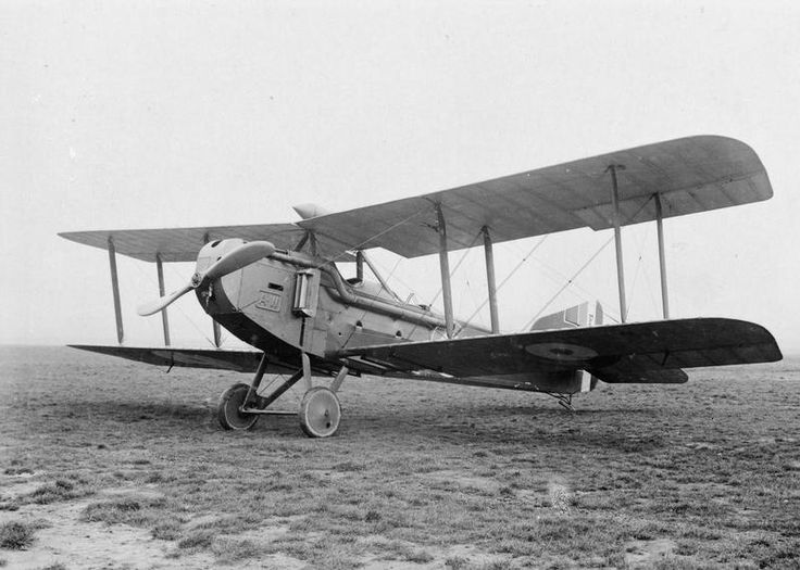 BRITISH AIRCRAFT FIRST WORLD WAR 1914-1918 (Q 68123)   Armstrong Whitworth FK8 two-seat corps reconnaissance aircraft.