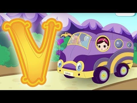 Letter V - Olive and the Rhyme Rescue Crew Video For Kids Nursery Songs Learn ABC - YouTube