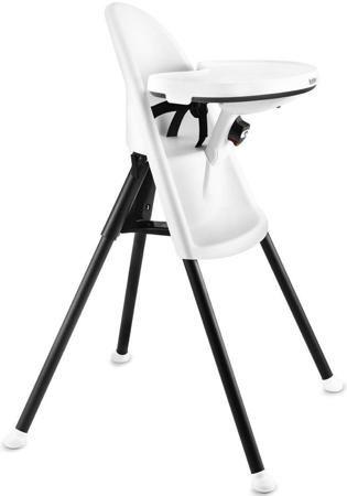 BABYBJORN Стул для кормления High Chair, белый  — 25800р. ------ Нестандартный складной стул с «космическим» дизайном BabyBjorn High Chair будет уместен в любом интерьере и удобен для малыша ростом до 95 см.  • Регулируемый откидной столик со съемным подносом используется кроме основной функции, в качестве ограничительного барьера, поэтому нет нужды в ремнях, которые сковывают движения.  • Каркас, выполненный из эмалированной стали, надежный и прочный, случайно не сложится.  • В комплекте…