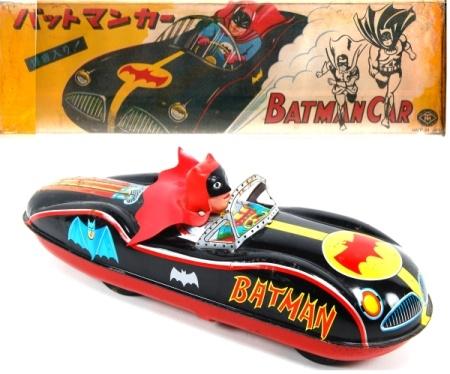 Another Japanese Tin Batmobile