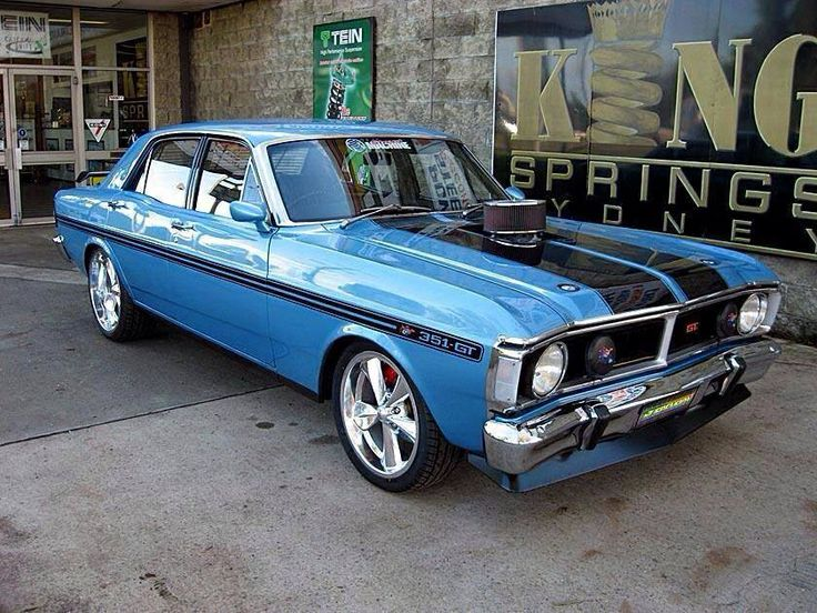 Best Muscle Car Xy Gt Images On Pinterest Ford Falcon