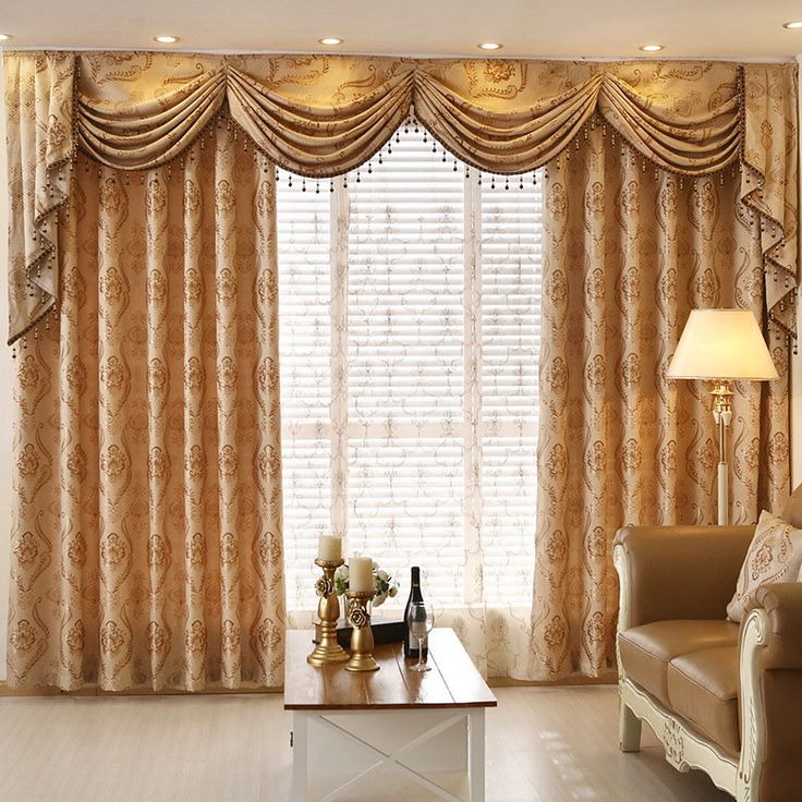 Cheap Curtains For, Buy Quality Curtains For Living Room Directly From  China Curtain For Living Suppliers: European Jarquard Embroidered Valance  Curtains ... Part 39