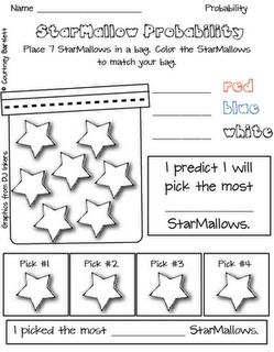 StarMallow math freebies