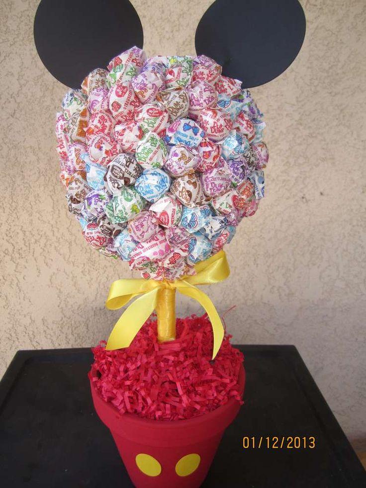 25 best ideas about lollipop bouquet on pinterest diy - Mickey mouse clubhouse bedroom decor ...