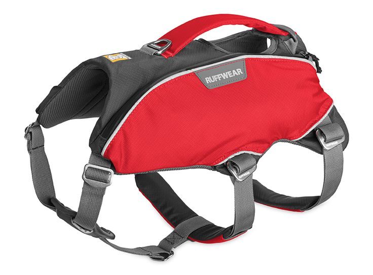 The Ruffwear Web Master Pro™ Harness is a lift-and-assist harness designed to address the needs of professional avalanche and Search And Rescue teams. Built on the safe, secure, and proven chassis of our Web Master™ harness, the Web Master Pro incorporates all-metal hardware, has an oversized handle for gloved hands, and two low-profile pockets that carry small essentials and provide easy sewing of ID patches.