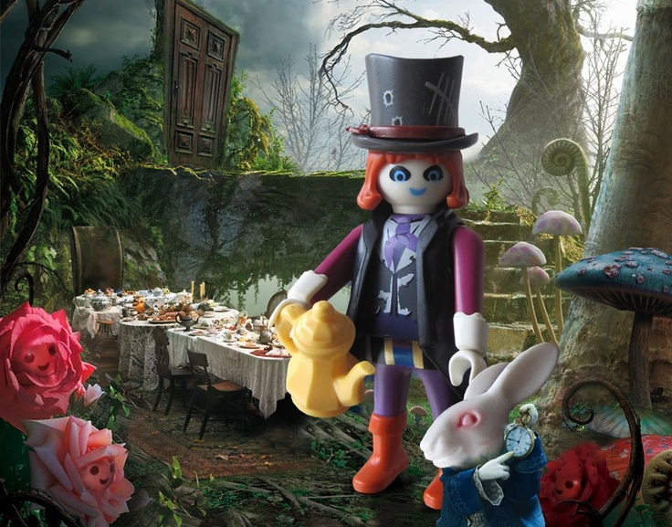 Alice in Wonderland's mad hatter