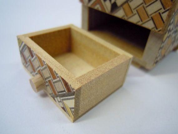 Japanese Puzzle box Himitsu bako 54mm 2.1inch от Japanesepuzzlebox