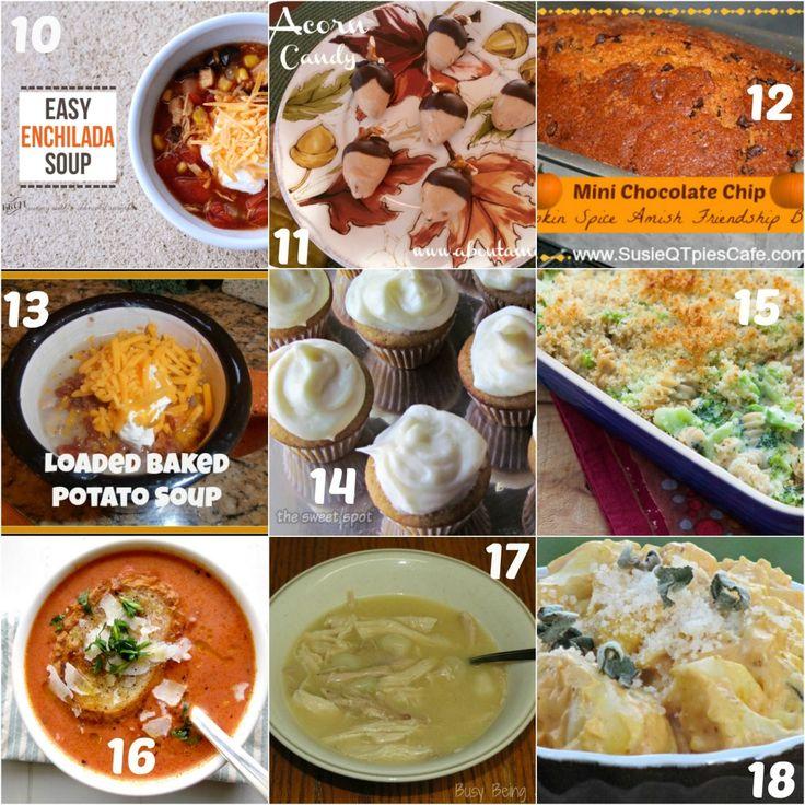 32 Fall Favorite Comfort Food Recipes