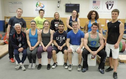 Team USA's Junior Pan American Championships Team and international athletes from Great Britain and Chile are at the Olympic Training Center in Colorado Springs, CO, for a preparation camp for the 2014 Pan American Junior Championships