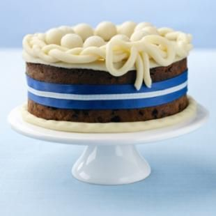 Chocolate Simnel Cake  http://www.nationalbakingweek.co.uk/content/chocolate-simnel-cake