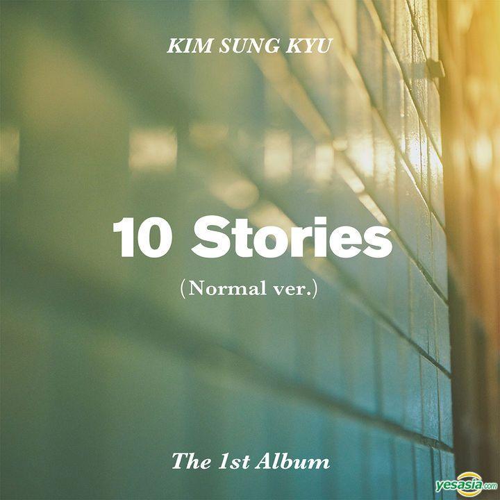 Kim Sung Kyu Vol 1 10 Stories Normal Edition Kim Sung Kyu Album Ep Album