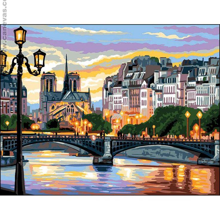 Canovaccio mezzo punto Royal Paris Il ponte delle Arti 132.232,
