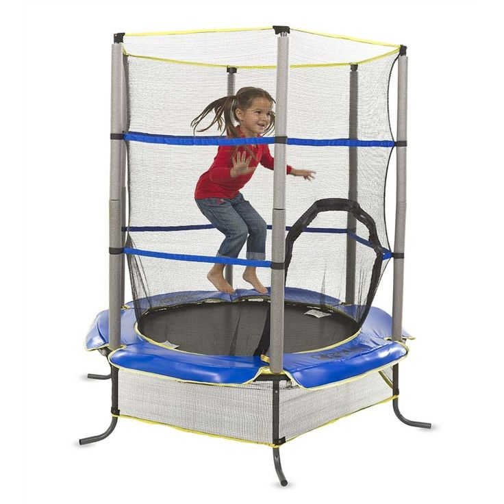 """55"""" Enclosed Trampoline 