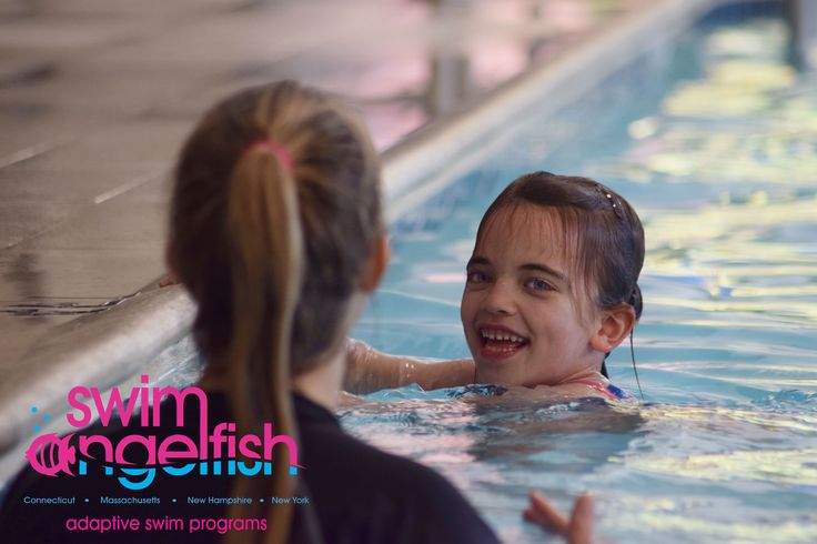 Swim Angelfish uses a highly developed methodology to increase water safety by teaching children with autism to submerge successfully and to take hold of a piece of equipment in the unlikely event that they fall into a pool, lake or ocean.   Click our link to learn more!