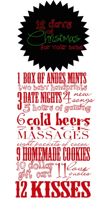 best 12 Days Of Christmas Gift Ideas For Husband image collection
